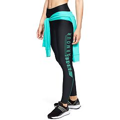 Women's Under Armour HeatGear Graphic Mid-Rise Leggings