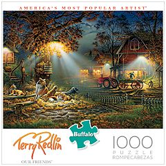 Buffalo Games 1000-Piece Terry Redlin: Our Friends Puzzle