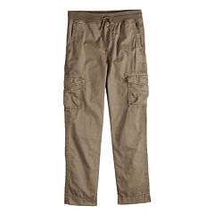 Boys 8-20 Urban Pipeline Knit-Waistband Cargo Pants