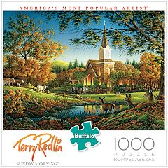 Buffalo Games 1000-Piece Terry Redlin: Sunday Morning Puzzle