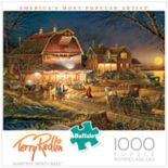 Buffalo Games 1000-Piece Terry Redlin: Harvest Moon Ball Puzzle