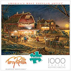 Buffalo Games 1000-Piece Terry Redlin: Harvest Moon Ball Puzzle
