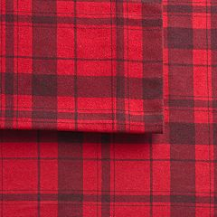 Cuddl Duds Home Flannel Sheet Set