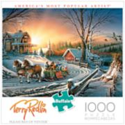 Buffalo Games 1000-Piece Terry Redlin: The Pleasures of Winter Puzzle
