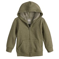 Toddler Boy Jumping Beans® Softest Fleece Zip Hoodie
