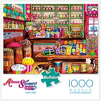 Buffalo Games 1000-Piece Sweet Shop Puzzle
