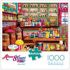 Buffalo Games 1000-Piece Sweet Shop Puzzle
