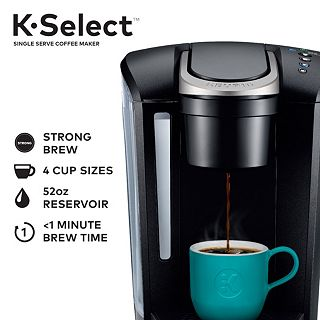 Keurig® K-Select® Single-Serve K-Cup Pod® Coffee Maker, with Strength  Control