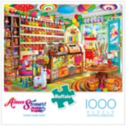 Buffalo Games 1000-Piece Corner Candy Store Puzzle