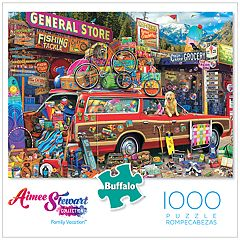Buffalo Games 1000-Piece Family Vacation Puzzle
