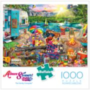 Buffalo Games 1000-Piece The Family Campsite Puzzle