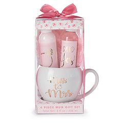Simple Pleasures 'Miss to Mrs.' 4-Piece Mug Gift Set