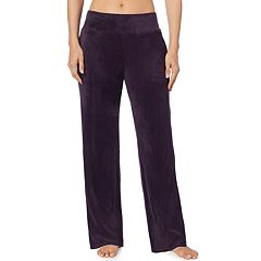 Women's Cuddl Duds Plush Velour Pants