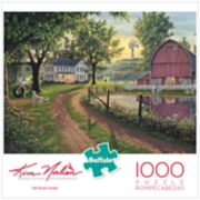 Buffalo Games 1000-Piece Kim Norlien: The Road Home Puzzle