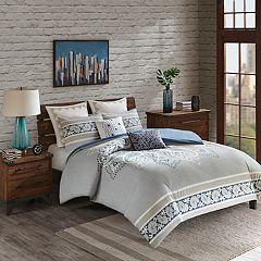 INK+IVY Sky 3-piece Cotton Comforter Set