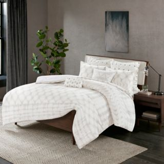 INK+IVY Fiji 3-piece Cotton Duvet Cover Set