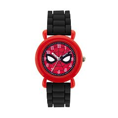 Marvel Comics Spider-Man Kids' Time Teacher Watch