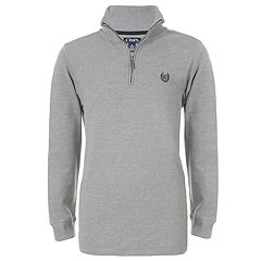 Boys 4-20 Chaps Anders Quarter-Zip Thermal Top