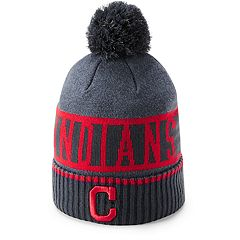 Men's Under Armour Cleveland Indians Team Pom Beanie