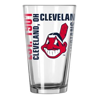 Boelter Cleveland Indians Spirit Pint Glass