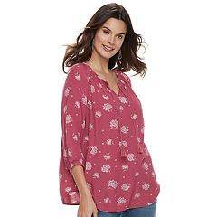 Women's SONOMA Goods for Life™ Crinkle Smocked Tunic