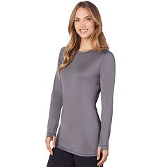 Women's Cuddl Duds Far-Infrared Enhance Long Sleeve Crew