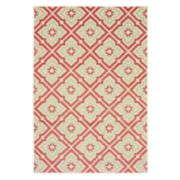StyleHaven Belize Floral Panel Lattice Indoor Outdoor Rug