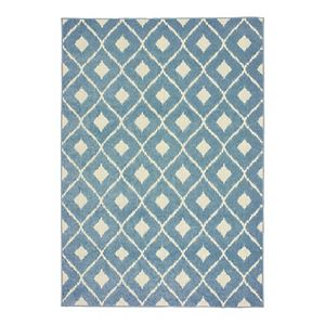 StyleHaven Belize Diamond Ikat Lattice Indoor Outdoor Rug