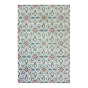 StyleHaven Belize Floral Dream Indoor Outdoor Rug