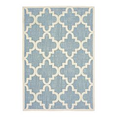 StyleHaven Belize Scalloped Lattice Indoor Outdoor Rug