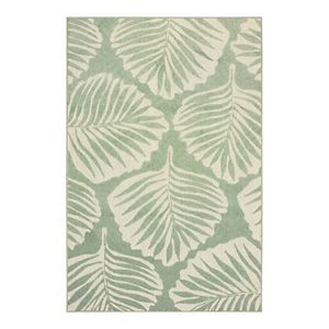 StyleHaven Belize Tropical Fare Leaf Indoor Outdoor Rug