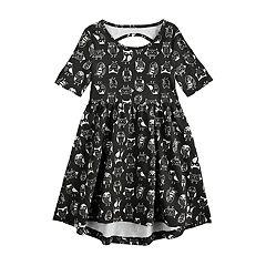 Girls 4-10 Jumping Beans®Elbow Sleeve Printed Dress