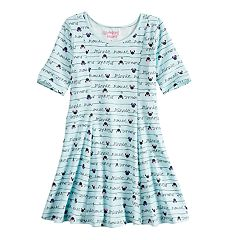 Disney's Minnie Mouse Girls 4-10 Print Skater Dress by Jumping Beans®