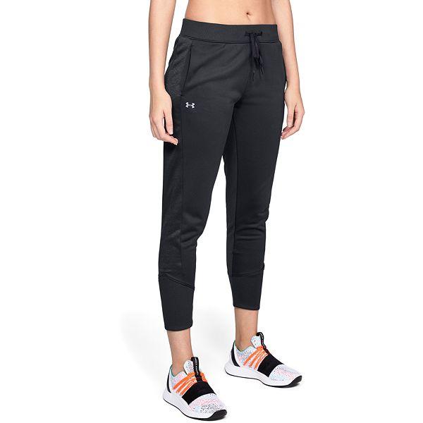 silencio Sensación Racional  Women's Under Armour Fleece Mid-Rise Jogger Pants