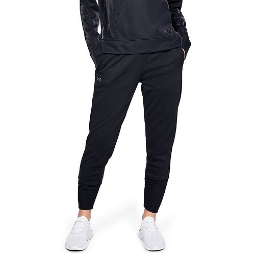 Women's Under Armour Fleece Mid Rise Jogger Pants by Under Armour