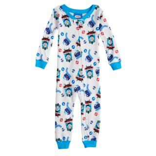 Baby Boy Thomas the Train Footless Pajamas