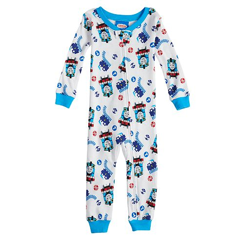 b243afade Baby Boy Thomas the Train Footless Pajamas