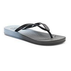 Women's SO® Glitter Solid Sandals
