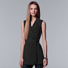 Women's Simply Vera Vera Wang Double Breasted Vest