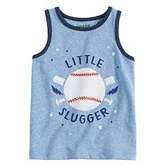 Baby Boy Jumping Beans® Baseball 'Little Slugger' Tank Top