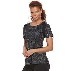 Women's Tek Gear® Performance Base Layer Mesh Panel Tee