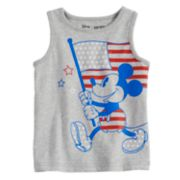 Disney's Mickey Mouse Baby Boy Patriotic Flag Softest Tank Top by Jumping Beans®