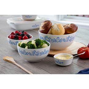 CorningWare Cornflower 60th Anniversary 3-piece Mixing Bowl Set