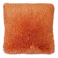 Popular Home Llama Shaggy Throw Pillow