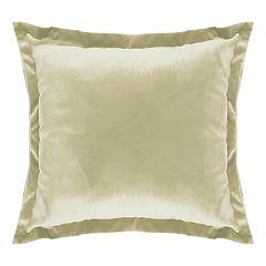 Popular Home Garner Solid Flange-Trimmed Throw Pillow