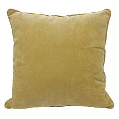 Popular Home Elizabeth Solid Throw Pillow