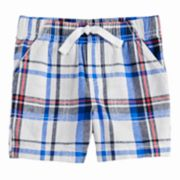 Toddler Boy Jumping Beans® Plaid Woven Shorts