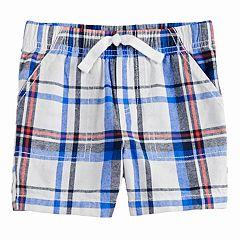 Toddler Boy Jumping Beans® Plaid Woven Shorts