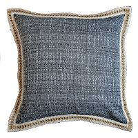 Popular Home Canvas Stiched Throw Pillow