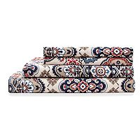 Grand Collection Ellie Cotton Print 300 Thread Count Sheet Set